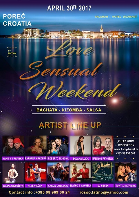 Love Sensual Weekend 2017 u Poreču