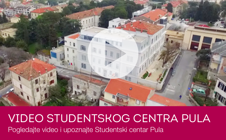 Video Studentskog centra Pula